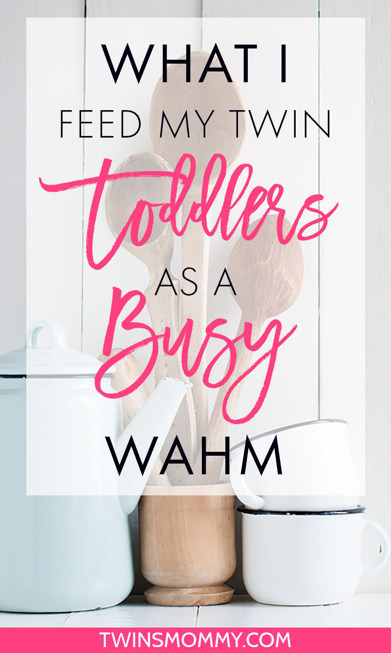 What I Feed My Twin Toddlers as a Busy WAHM