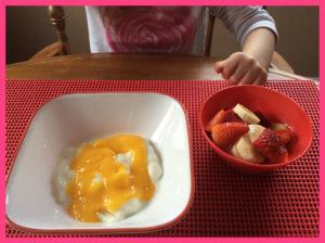 girl-breakfast-yogurt