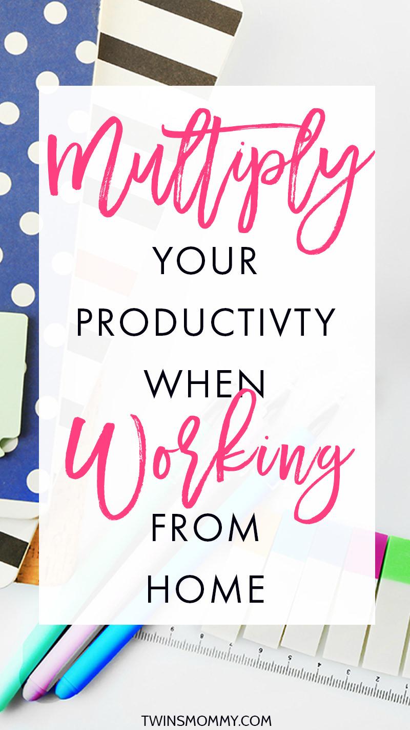 Evden çalışırken verimliliğinizi artırmak için