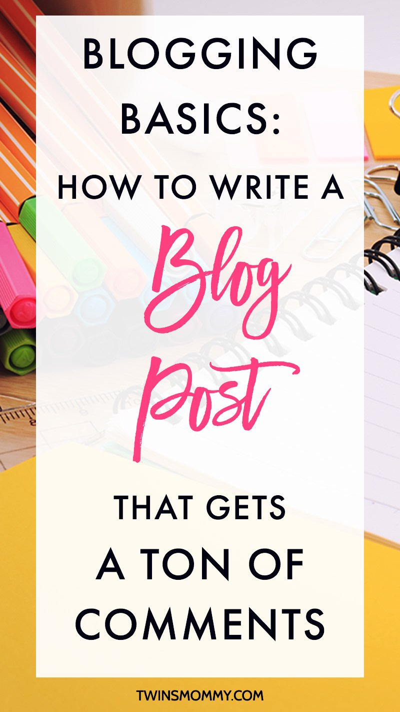 writing a blog tips for mommy