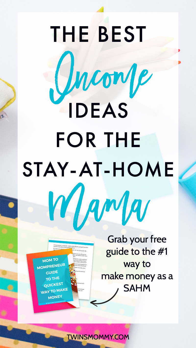 4 Profitable Income Ideas for the Stay-at-Home Mama