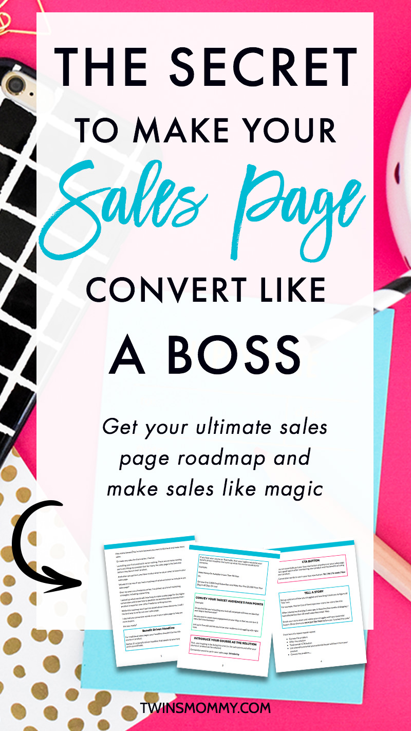 The Secret to Make Your Sales Page Convert Like a Boss + Free Sales Page Roadmap