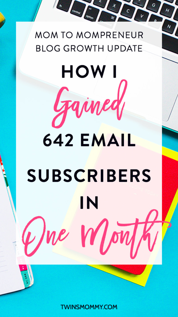 Month 7 Blog Growth Update: How I Gained 642 Email Subscribers in One Month