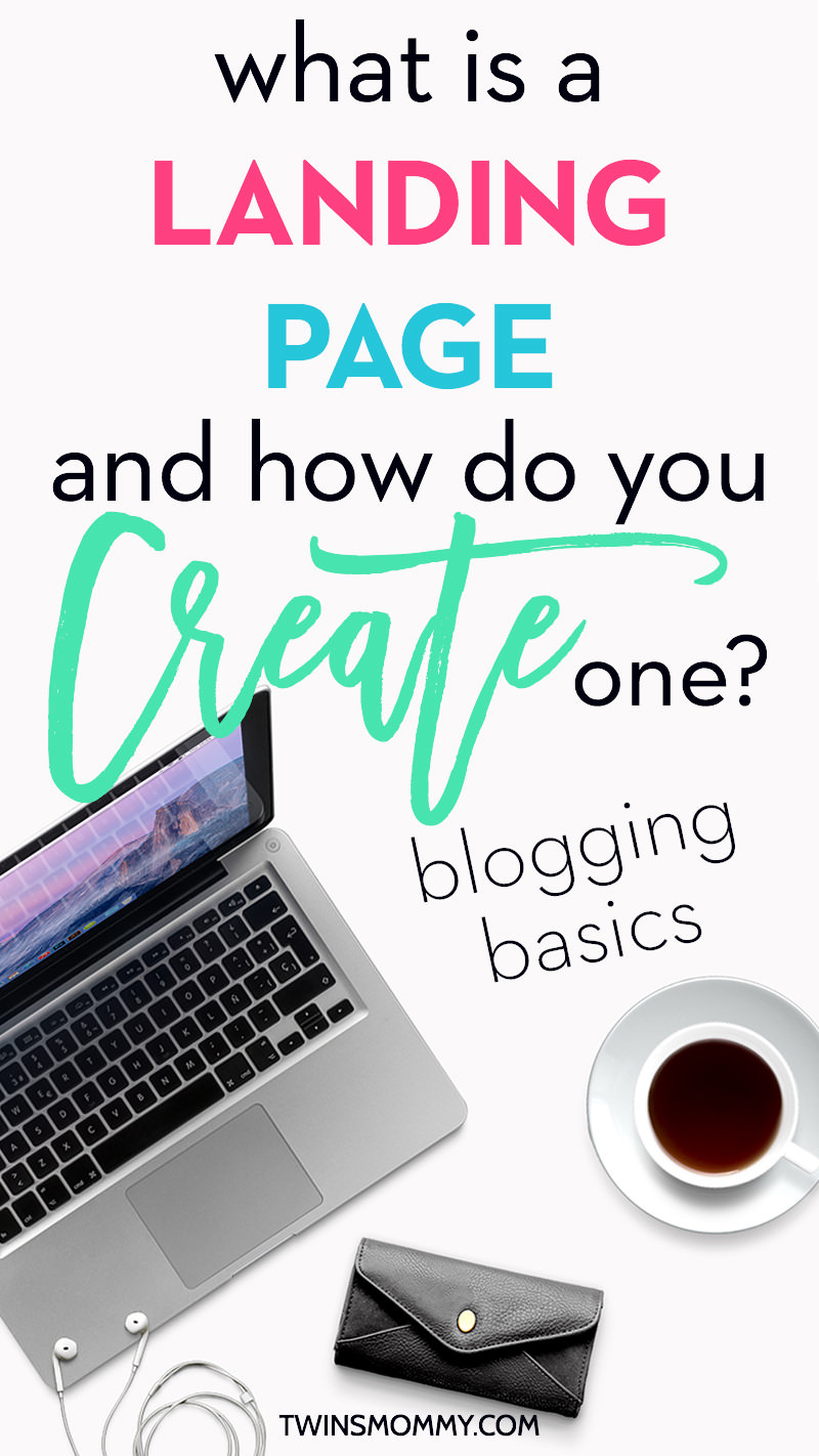how to create a landing page on blogger
