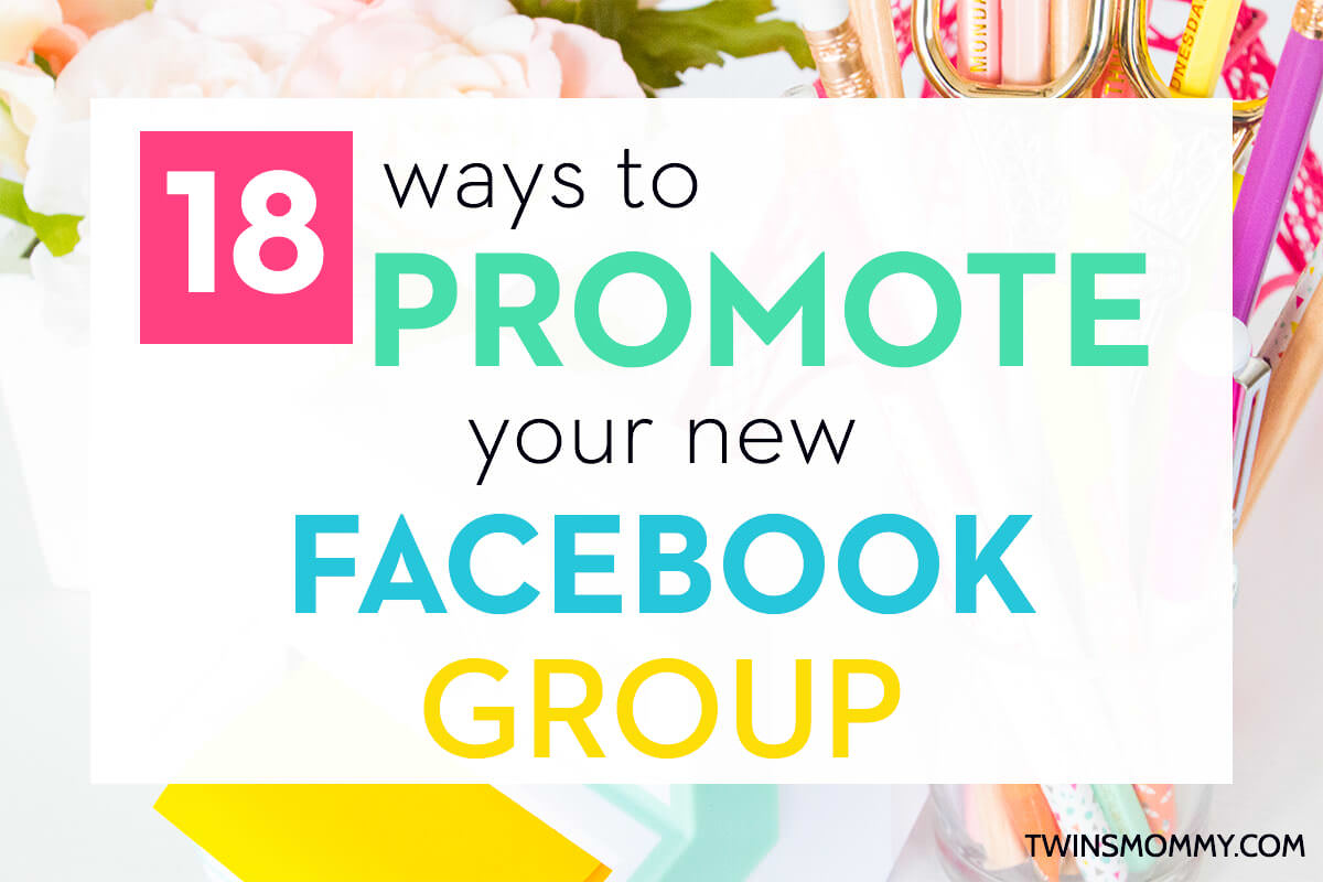 How to promote the group