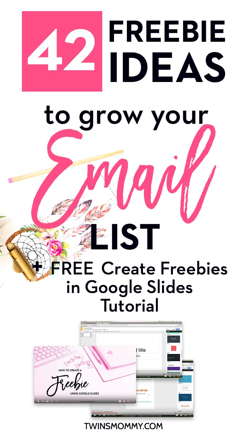 42 Proven Ideas for Your Opt-in Freebies to Grow Your Email