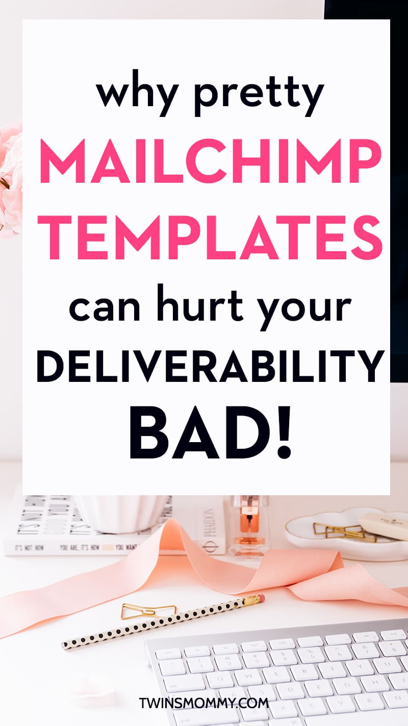 Why Pretty MailChimp Templates Can Hurt Your DeliverabilityBad - Beautiful mailchimp templates