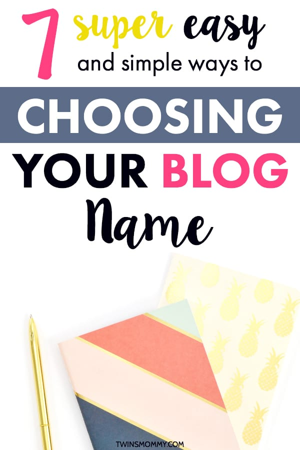 Blog site title ideas